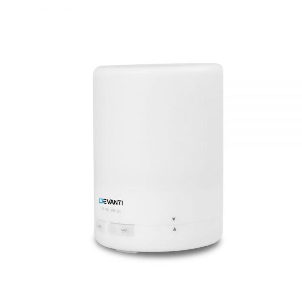 DEVANTi Aroma Diffuser Air Humidifier Night Light White 300ml