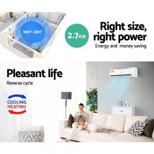 Devanti 2.7KW Split System Air Conditioner