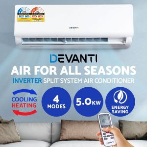 Devanti 4-in-1 5.0kW Split System Inverter Air Conditioner