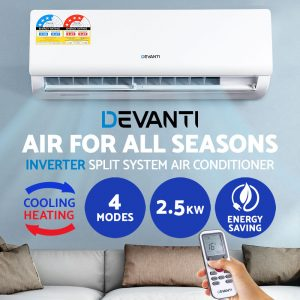 Devanti 4-in-1 Split System Inverter Air Conditioner
