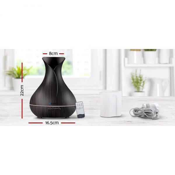 Devanti 400ml 4 in 1 Aroma Diffuser with remote control