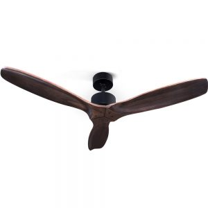 Devanti 52'' Ceiling Fan With Remote Control Fans 3 Wooden Blades Timer 1300mm