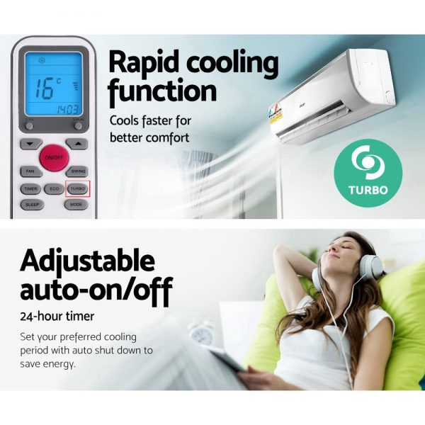 Devanti 7.0KW Split System Reverse Cycle Air Conditioner