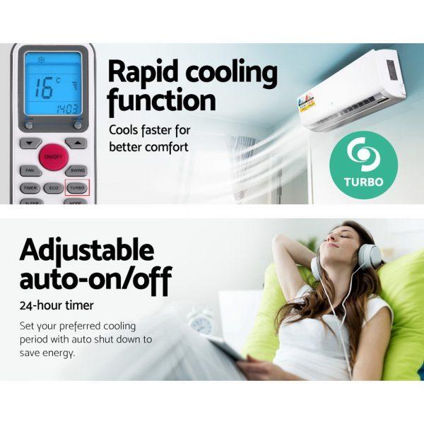 Devanti 8.0KW Split System Reverse Cycle Air Conditioner