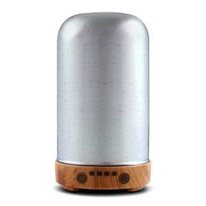 Devanti Aromatherapy Diffuser Aroma Humidifier Ultrasonic 3D Light Essential Oil