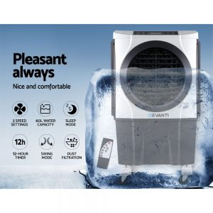 Devanti Evaporative Air Cooler Industrial Conditioner Commercial Fan Purifier