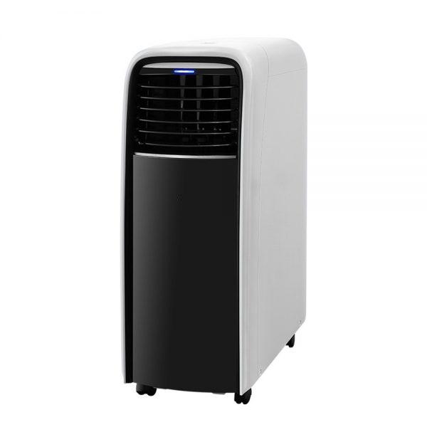 Devanti Portable Air Conditioner Cooling Mobile Fan Cooler Dehumidifier White 2500W