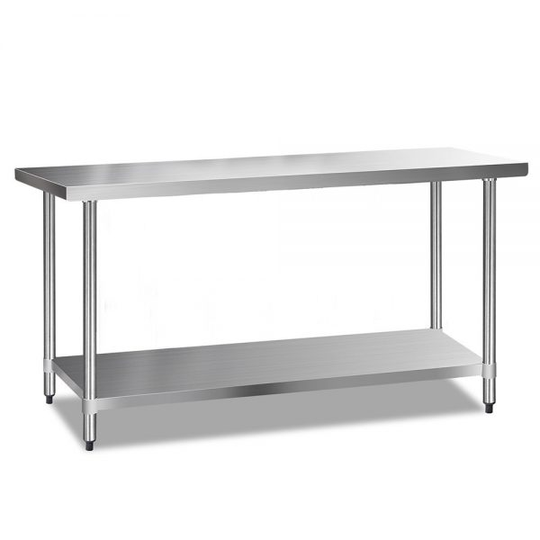 Cefito 1829 x 610mm Commercial Stainless Steel Kitchen Bench (1)