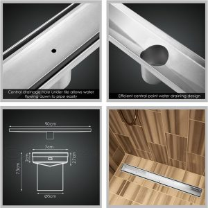 Cefito 900mm Stainless Steel Insert Shower Grate