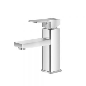 Cefito Basin Mixer Tap Faucet Bathroom Vanity Counter Top WELS Standard Brass Silver