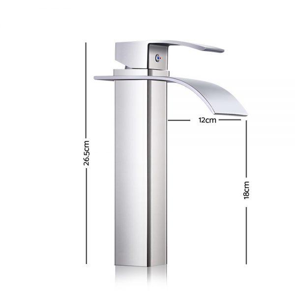Cefito Basin Mixer Tap - Silver