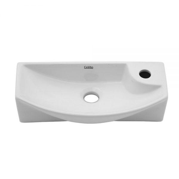 Cefito Ceramic Basin 46cm X15cm