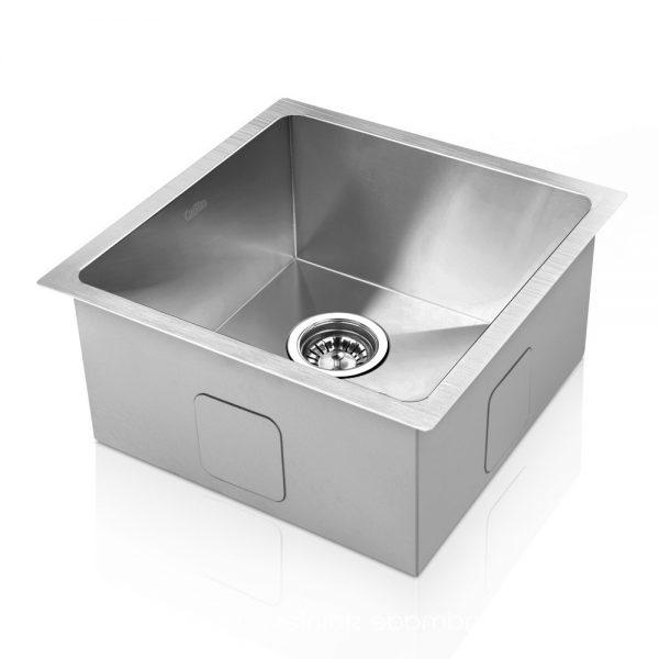 Cefito Stainless Steel Kitchen Sink 360X360MM Under Topmount Sinks Laundry Bowl Silver