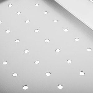 Cefito Stainless Steel Sink 425X250MM Colander Kitchen Draining Tray Strainer Silver (1)