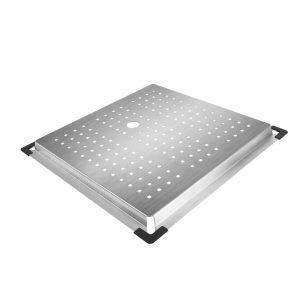 Cefito Stainless Steel Sink 425X425MM Colander Kitchen Draining Tray Strainer Silver