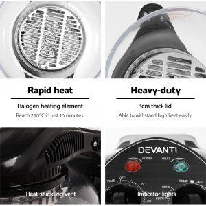 Devanti 12L Air Fryer - Black