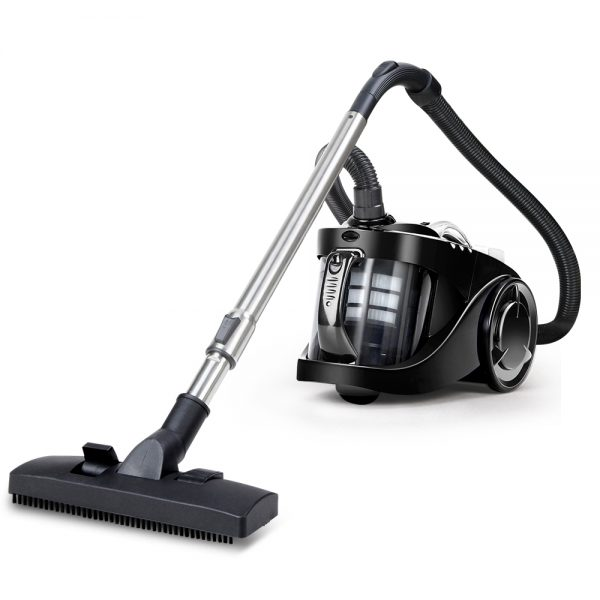 Devanti Vacuum Cleaner Bagless Cyclone Cyclonic Vac Home Office Car 2200W Black