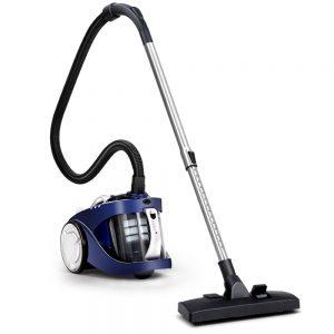 Devanti Vacuum Cleaner Bagless Cyclone Cyclonic Vac Home Office Car 2200W Blue