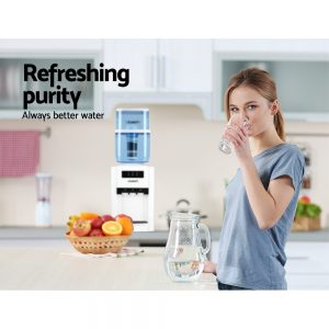 Devanti Water Cooler Dispenser Tap Water Filter Purifier 6-Stage Filtration Carbon Mineral Cartridge Pack of 3