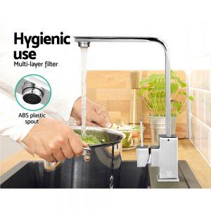 Kitchen Mixer Tap - Silver